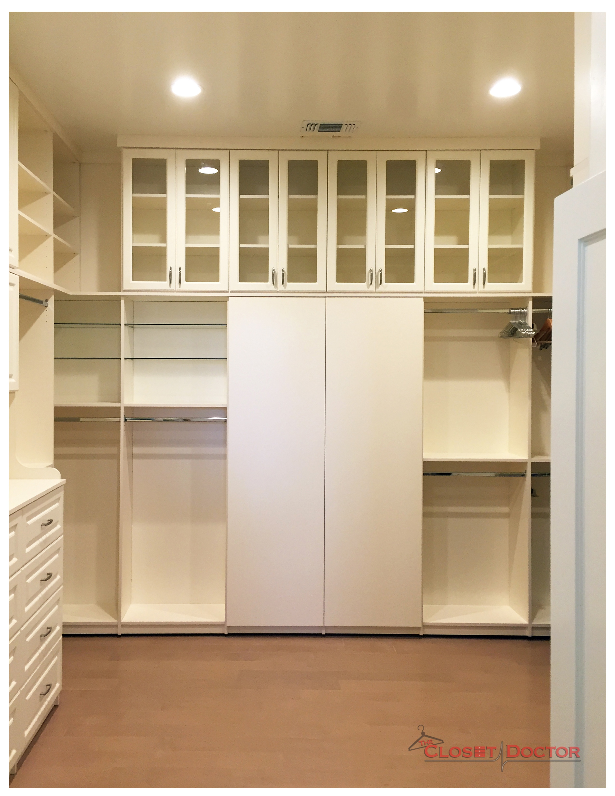 An Extra Tall, Antique White, El dorado hills dream closet ? Image 3