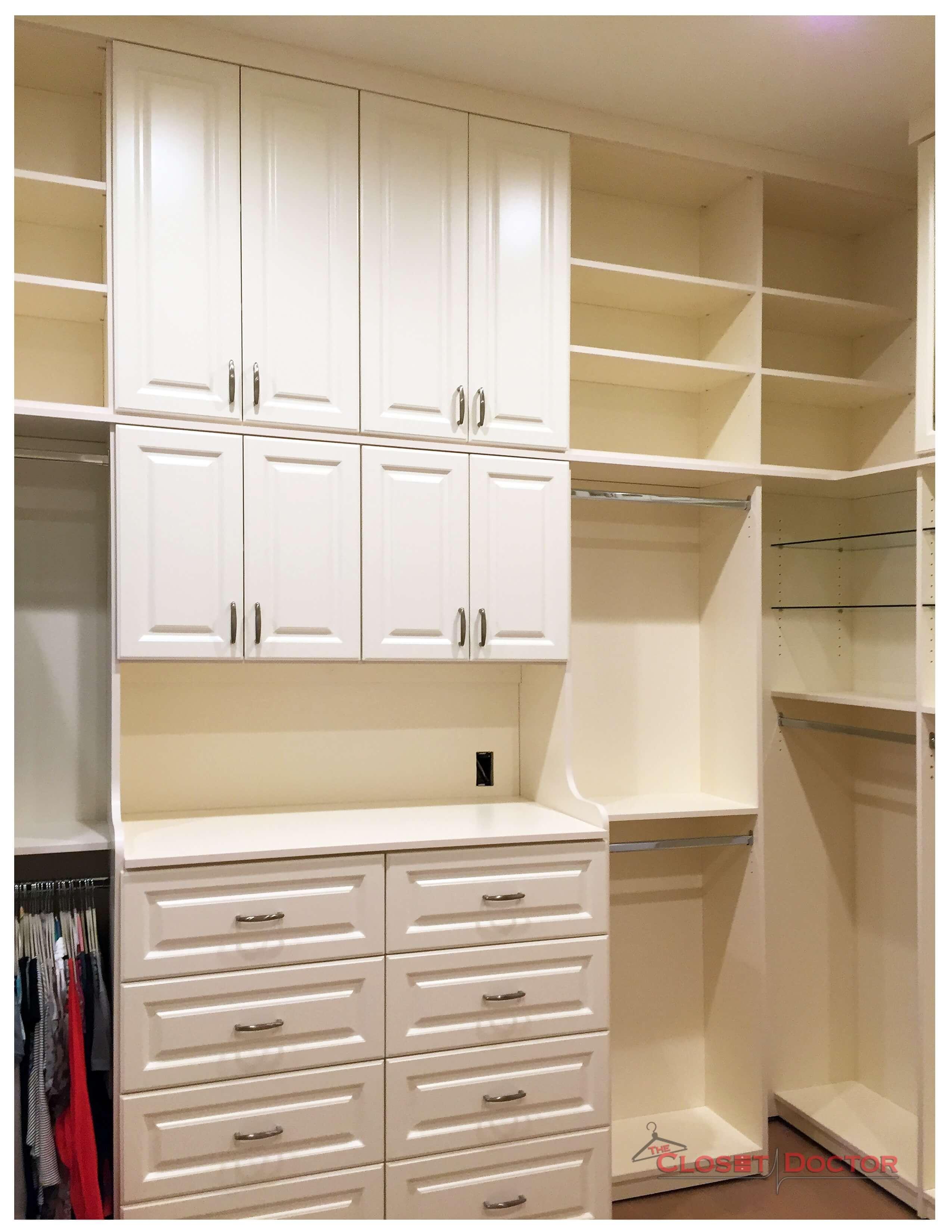 An Extra Tall, Antique White, El dorado hills dream closet ? Image 2