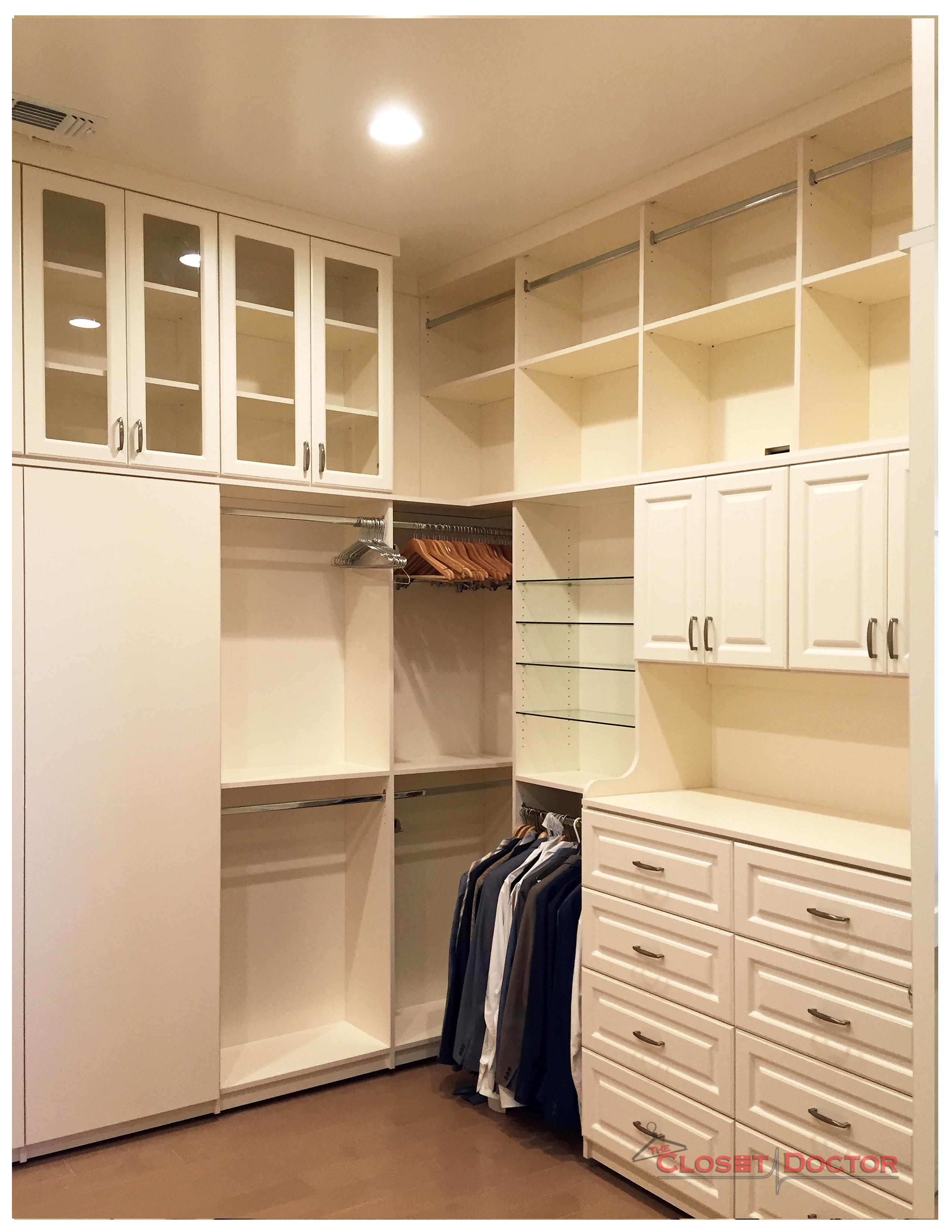 An Extra Tall, Antique White, El dorado hills dream closet ? Image 4