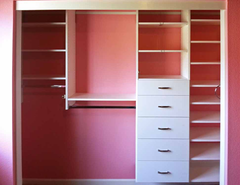 affordable closet organizers in sacramento